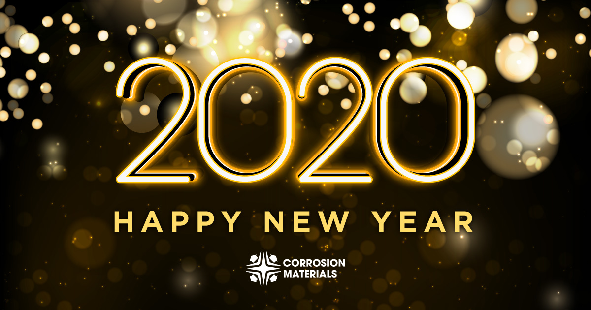 Happy New Year from Corrosion Materials